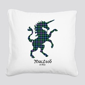 Unicorn-MacLeodSkye Square Canvas Pillow