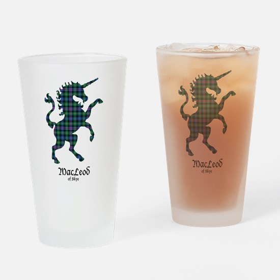 Unicorn-MacLeodSkye Drinking Glass