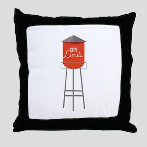 City Limits Throw Pillow