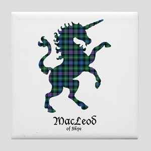 Unicorn-MacLeodSkye Tile Coaster