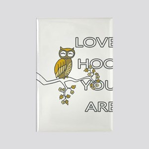 Love Hoo You Are Owl Magnets
