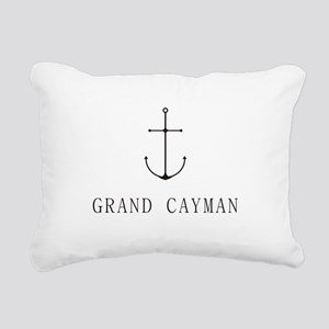 Grand Cayman Sailing Anchor Rectangular Canvas Pil