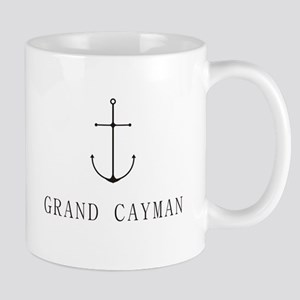 Grand Cayman Sailing Anchor Mugs