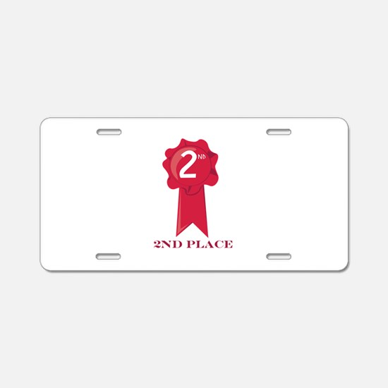 2nd Place Aluminum License Plate
