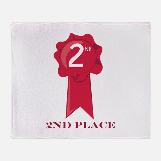 2nd Place Throw Blanket