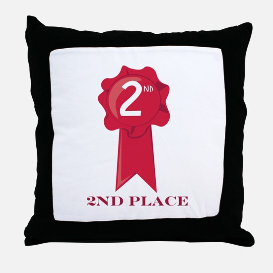 2nd Place Throw Pillow