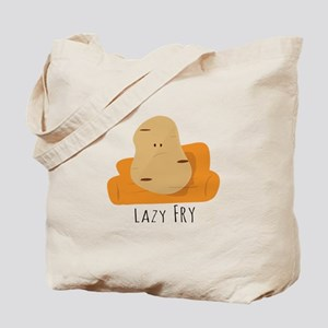 Lazy Fry Tote Bag