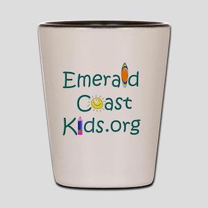 EmeraldCoastKids.org Shot Glass
