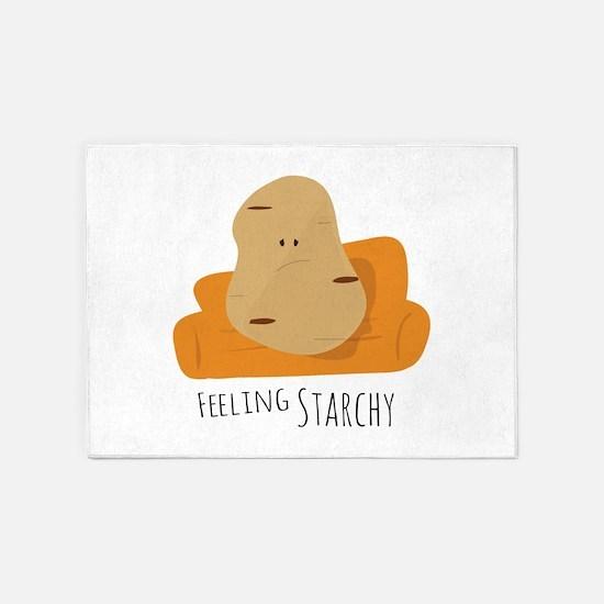 Feeling Starchy 5'x7'Area Rug
