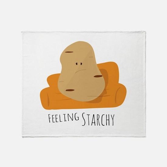 Feeling Starchy Throw Blanket