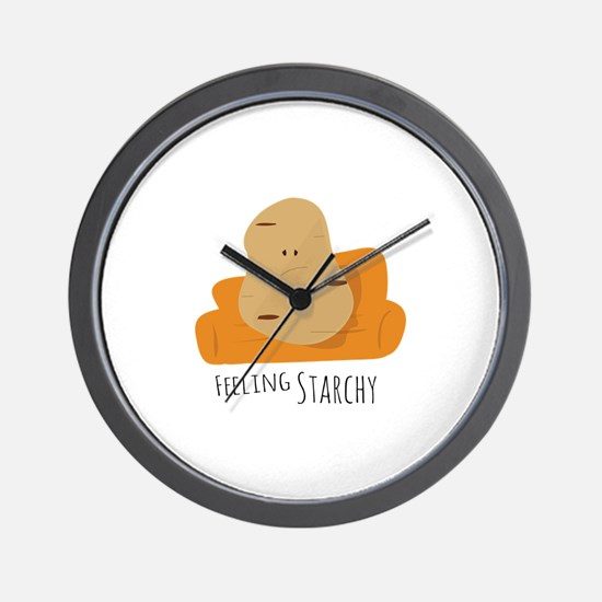 Feeling Starchy Wall Clock