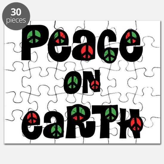 Peace On Earth Christmas Puzzle