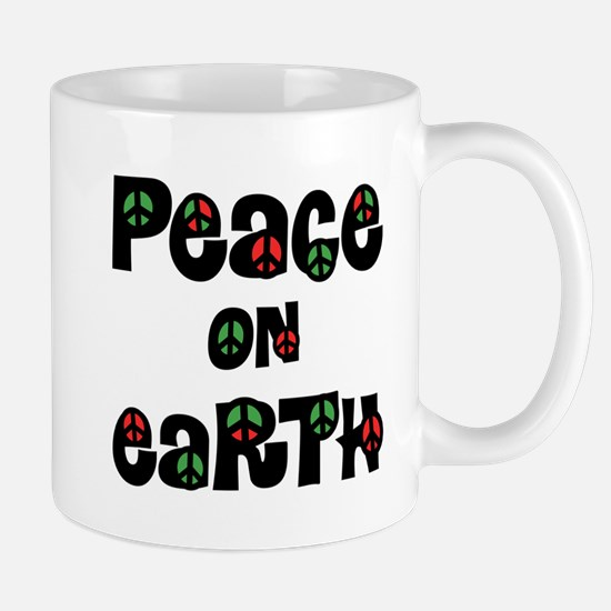 Peace On Earth Christmas Mugs