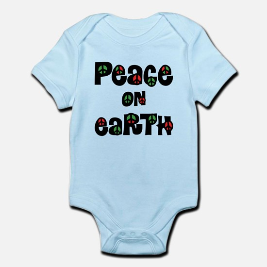 Peace On Earth Christmas Body Suit