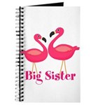 Big Sister Pink Flamingoes Journal