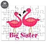 Big Sister Pink Flamingoes Puzzle