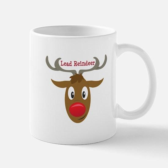 Lead Reindeer Mugs