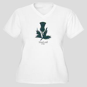 Thistle-MacLeodSk Women's Plus Size V-Neck T-Shirt