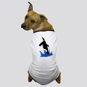 Jumping Killer Whale Orca Dog T-Shirt
