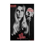 Coven's Satan Save the Queen Mini Poster Print