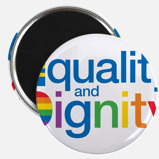 "Funny Equality 2.25"" Magnet (100 pack)"
