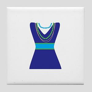 Fashion Dress Tile Coaster