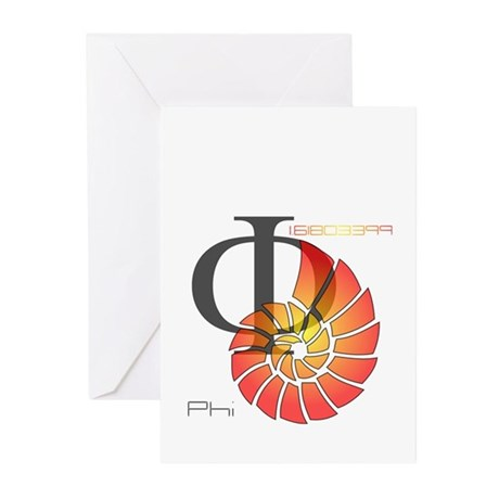 Golden Ratio Greeting Cards (Pk of 10)