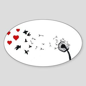Dandelion Love Sticker