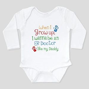 Future ER Doctor Long Sleeve Infant Bodysuit