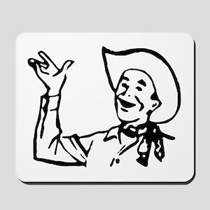 Big Texas Howdy Y'all Mousepad