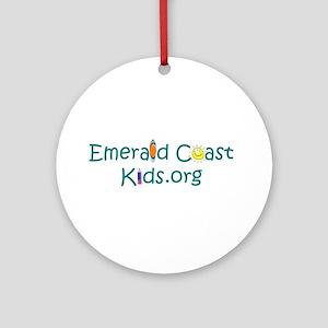 We love Emerald Coast Kids Ornament (Round)