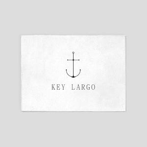 Key Largo Sailing Anchor 5'x7'Area Rug