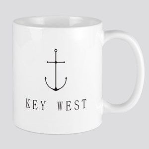 Key West Sailing Anchor Mugs