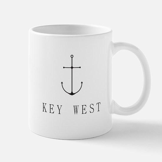 Key West Sailing Anchor Mugs
