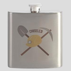 Chiseled Tools Flask