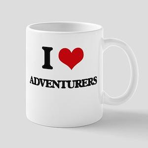 I Love Adventurers Mugs