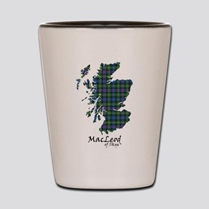 Map-MacLeodSkye Shot Glass