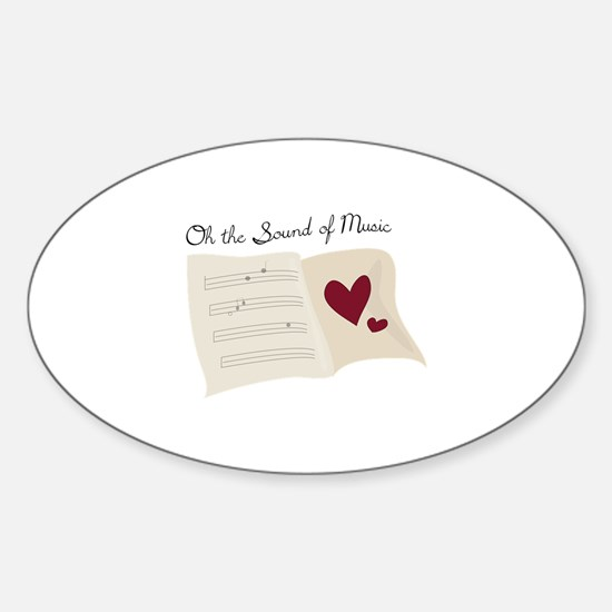 Sound of Music Decal