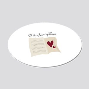 Sound of Music Wall Decal