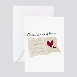 Sound of music greeting cards cafepress sound of music greeting cards m4hsunfo