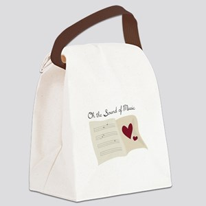 Sound of Music Canvas Lunch Bag