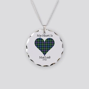 Heart-MacLeodSkye Necklace Circle Charm