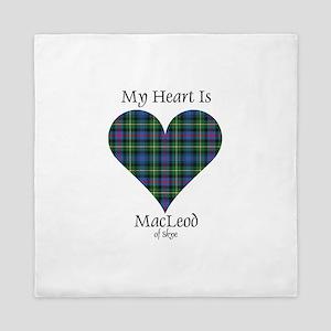 Heart-MacLeodSkye Queen Duvet