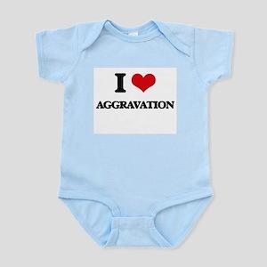 I Love Aggravation Body Suit