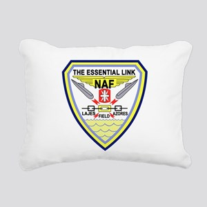 US NAVAL AIR LAJES AZORE Rectangular Canvas Pillow