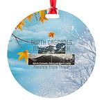 North Cascades Round Ornament