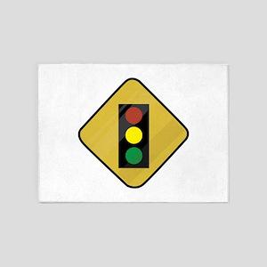 Signal Sign 5'x7'Area Rug