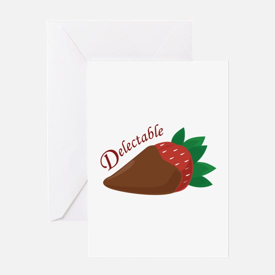 Delectable Strawberry Greeting Cards