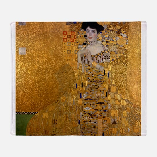 Klimt's Adele H Throw Blanket