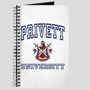 PRIVETT University Journal